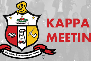 Kappa Meeting