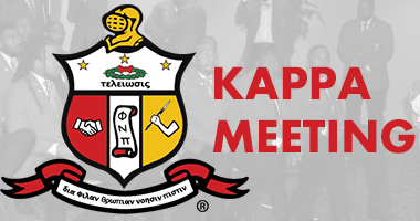 Kappa Meeting