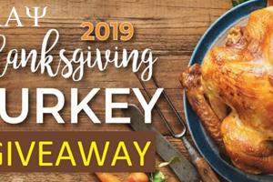 Kappa Turkey Basket Giveaway